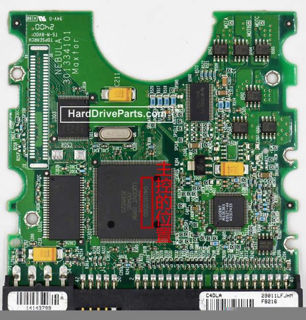 Maxtor Festplattenelektronik PCB 040103500