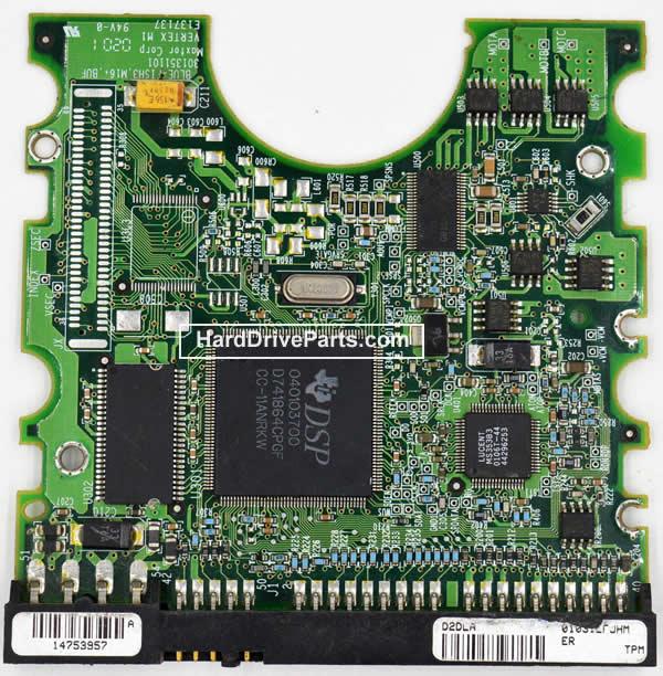 Maxtor Festplattenelektronik PCB 040103700