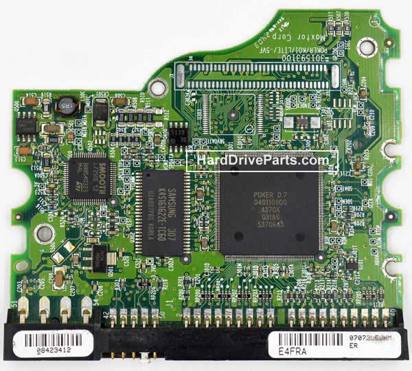 Maxtor Festplattenelektronik PCB 040108000