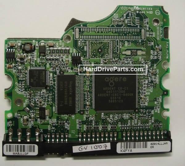 Maxtor Festplattenelektronik PCB 040111300