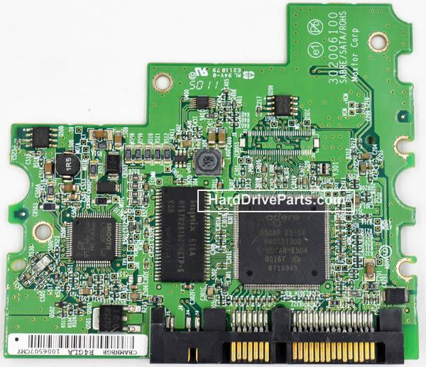 Maxtor Festplattenelektronik PCB 040121300