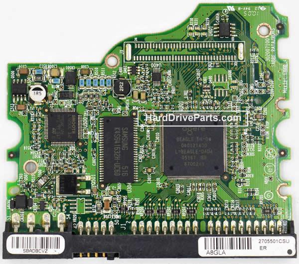 Maxtor Festplattenelektronik PCB 040121400