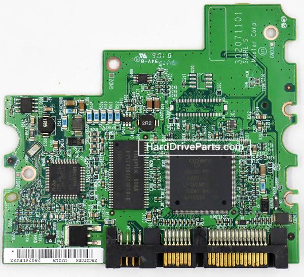 Maxtor Festplattenelektronik PCB 040125400