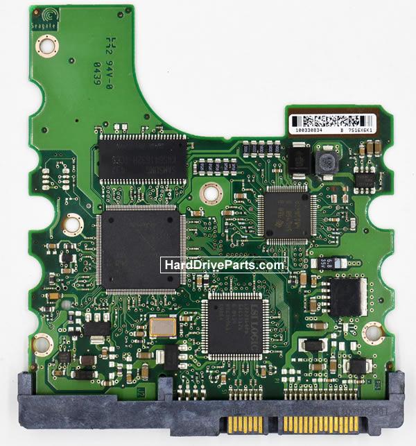 Seagate ST3200822AS Festplatten Ersatzteile Platine 100306336