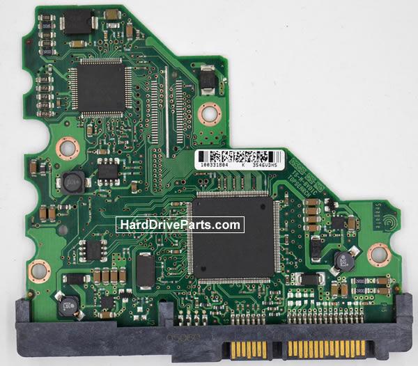 Seagate Festplattenelektronik PCB 100331803