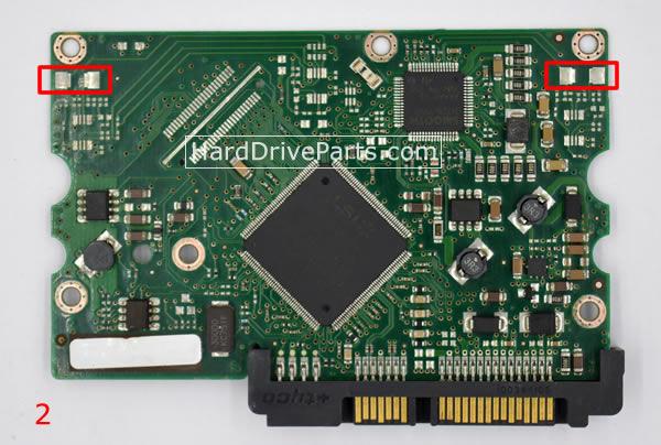 Seagate Festplattenelektronik PCB 100406533