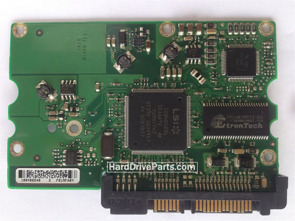 Seagate Festplattenelektronik PCB 100406937