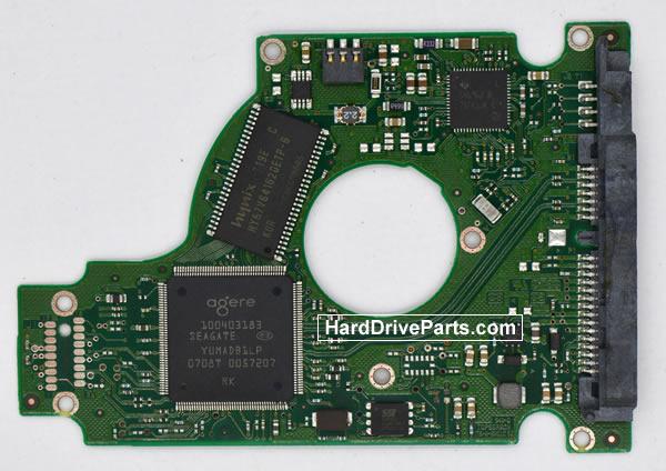 Seagate ST9160823AS Festplatten Ersatzteile Platine 100430580