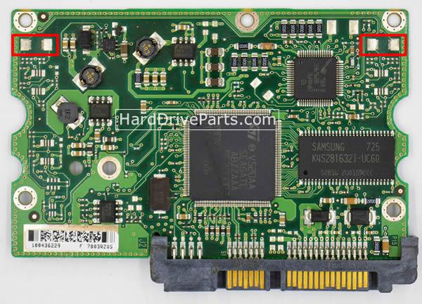 Seagate Festplattenelektronik PCB 100435196