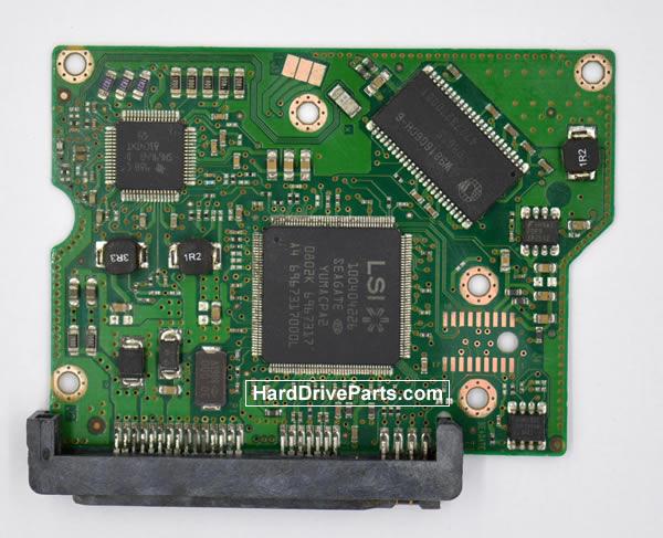 Seagate STM380215AS Festplatten Ersatzteile Platine 100473090