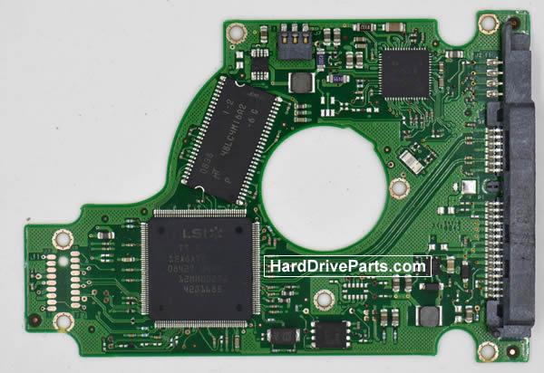 Seagate ST9250827AS Festplatten Ersatzteile Platine 100484444