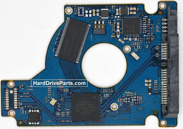 Seagate ST9500325AS Festplatten Ersatzteile Platine 100513229
