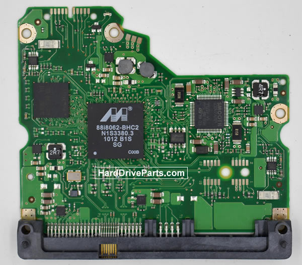 Seagate Festplattenelektronik PCB 100549571