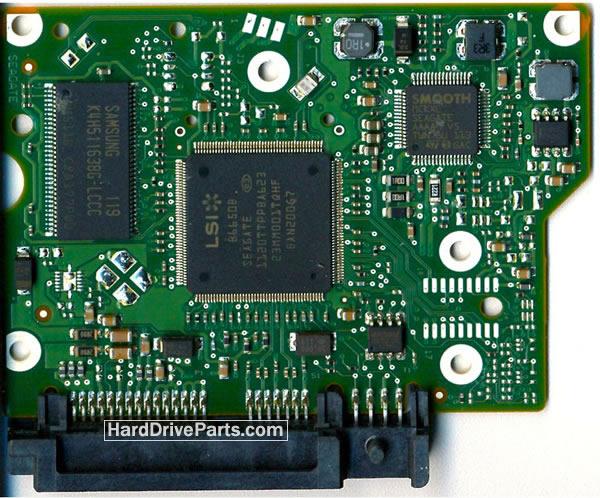 ST1000DL002 Seagate PCB Circuit Board 100591286