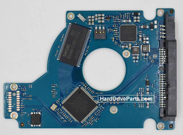 Seagate Festplattenelektronik PCB 100593393