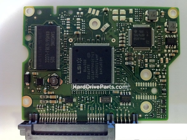ST2000DM001 Seagate PCB Circuit Board 100617465