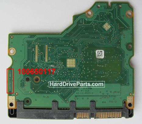 ST31000528AS Seagate PCB Circuit Board 100650117