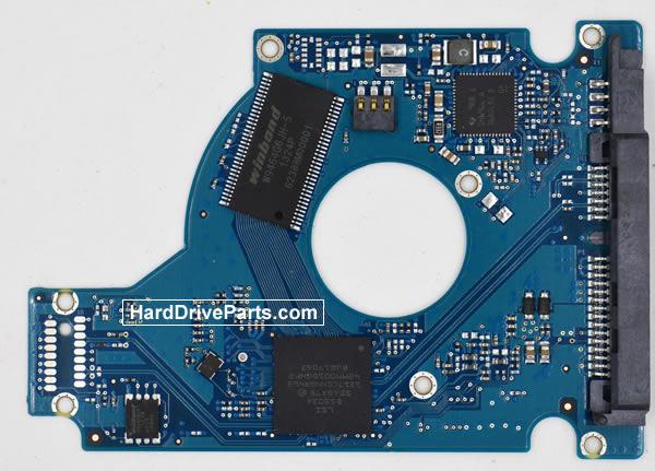 Seagate ST9500323CS Festplatten Ersatzteile Platine 100660535