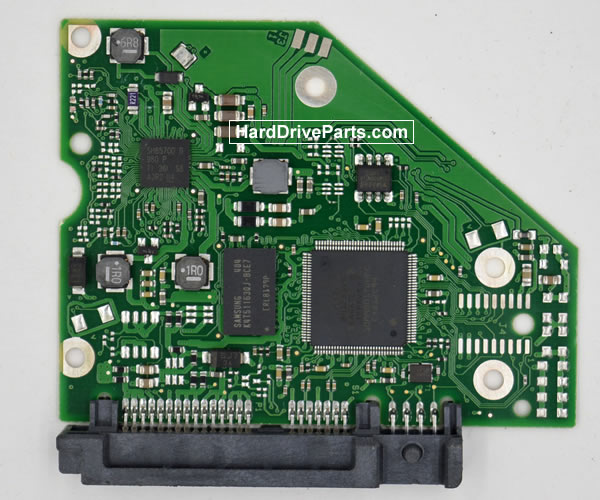 Seagate ST3000DM001 Festplatten Ersatzteile Platine 100724095