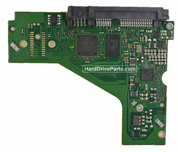 Seagate ST6000VX0001 Festplatten Ersatzteile Platine 100743767