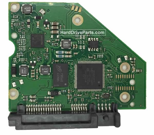 Seagate ST3000DM001 Festplatten Ersatzteile Platine 100762568