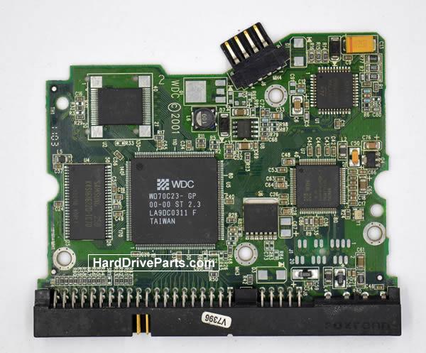 Western Digital WD400BB Festplatten Ersatzteile Platine 2060-001092-007