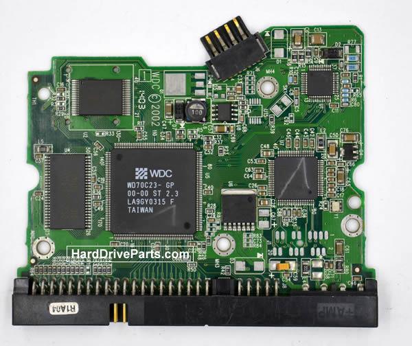 Western Digital Festplattenelektronik PCB 2060-001129-001