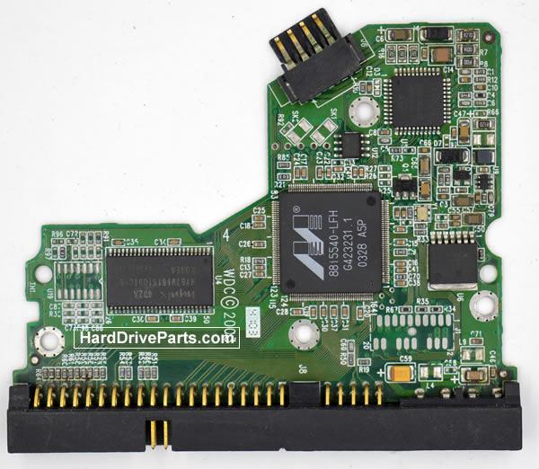 Western Digital Festplattenelektronik PCB 2060-001130-010