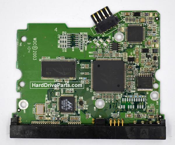 Western Digital Festplattenelektronik PCB 2060-001252-000