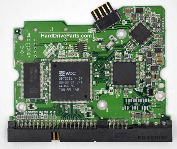 Western Digital WD2500JB Festplatten Ersatzteile Platine 2060-001265-001
