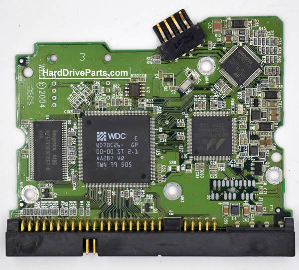 Western Digital Festplattenelektronik PCB 2060-001266-000
