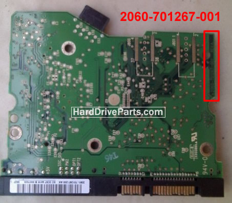 WD2500SD WD PCB Circuit Board 2060-701267-001