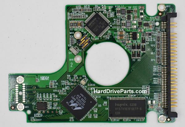 Western Digital WD600UE Festplatten Ersatzteile Platine 2060-701281-001