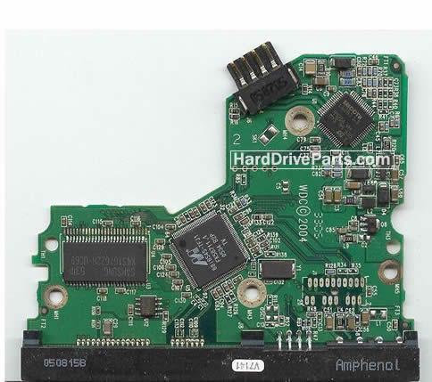 WD2500JS WD PCB Circuit Board 2060-701335-003