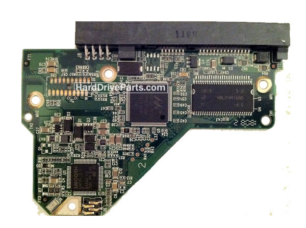 WD5000AAKS WD PCB Circuit Board 2060-701444-003