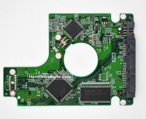 Western Digital WD800BEVS Festplatten Ersatzteile Platine 2060-701450-011