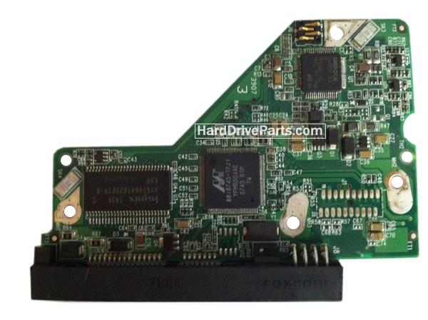 WD5000AAKS WD PCB Circuit Board 2060-701477-001