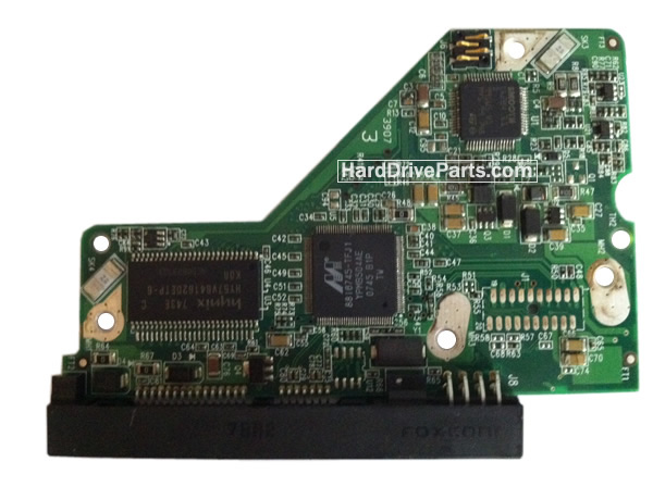 WD5000AAVS WD PCB Circuit Board 2060-701477-002