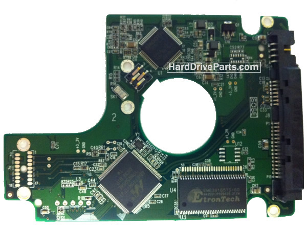 WD800BEVS WD PCB Circuit Board 2060-701499-005