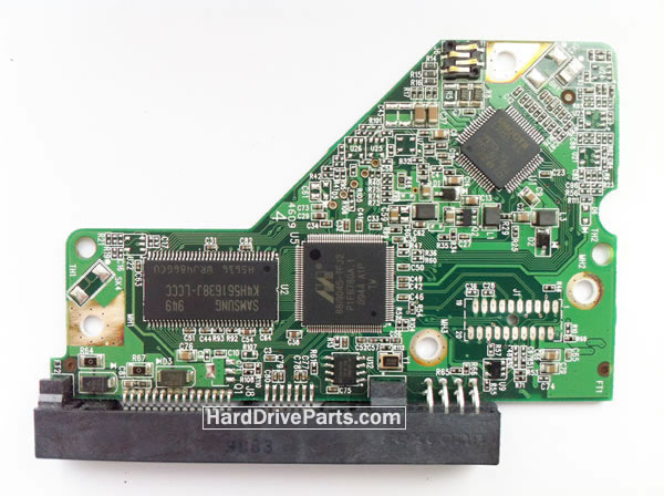 WD5000AAJB WD PCB Circuit Board 2060-701508-001