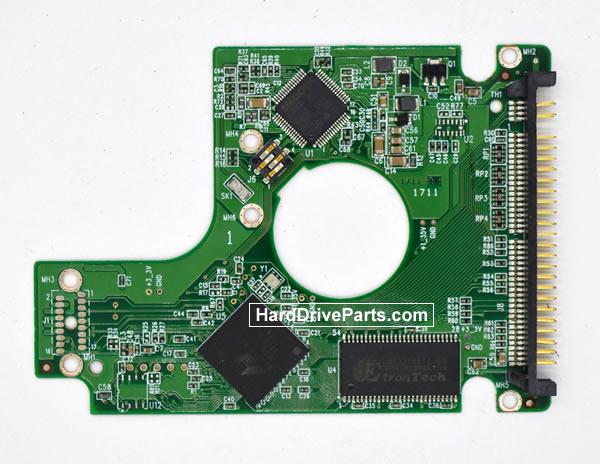 Western Digital WD2500BEVE Festplatten Ersatzteile Platine 2060-701532-000