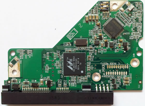 WD5002ABYS WD PCB Circuit Board 2060-701537-004