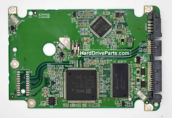 Western Digital WD1500HLFS Festplatten Ersatzteile Platine 2060-701543-003