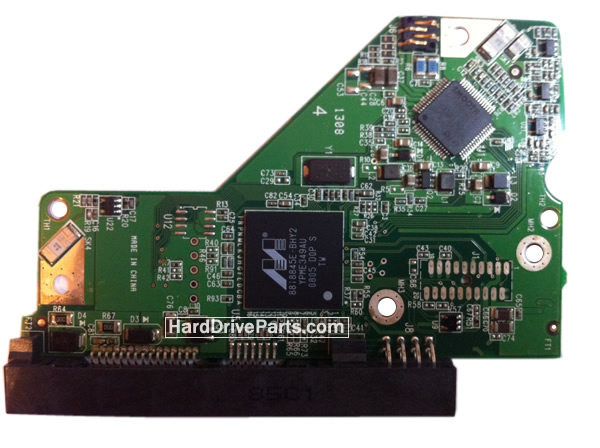 WD5001AALS WD PCB Circuit Board 2060-701567-000