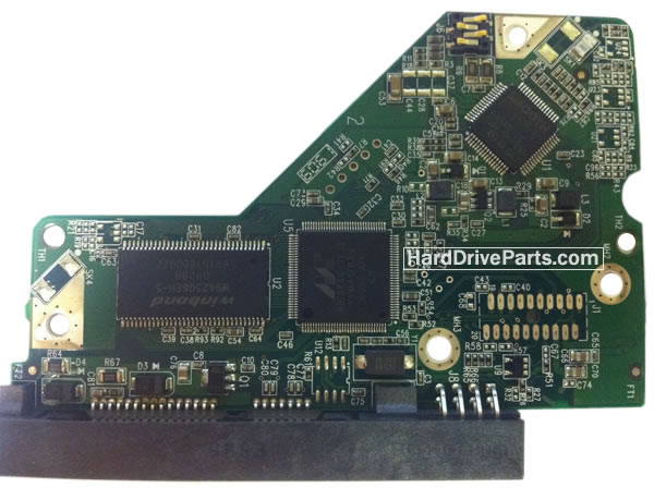 WD6401AALS WD PCB Circuit Board 2060-701622-000
