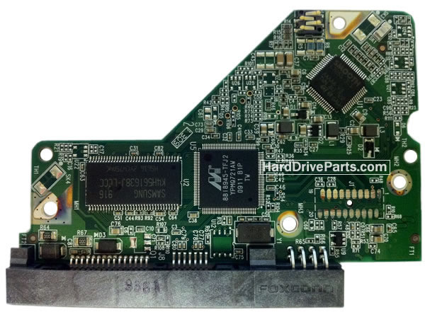 WD10EARS WD PCB Circuit Board 2060-701640-000