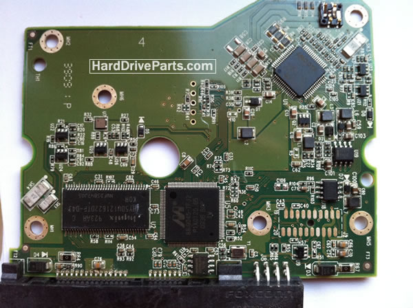 WD2002FYYS WD PCB Circuit Board 2060-771624-001