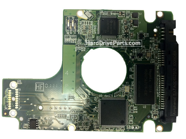 WD7500BTKT WD PCB Circuit Board 2060-771629-006