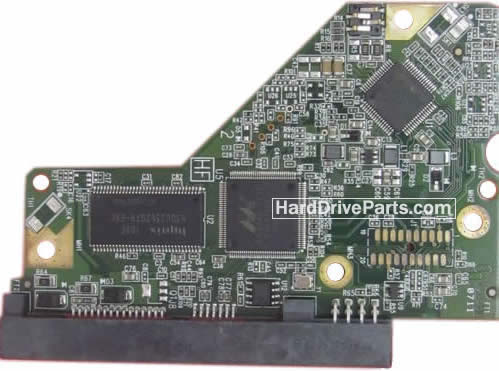 WD2500AAKS WD PCB Circuit Board 2060-771640-002