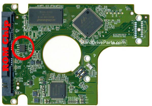 WD2500BEKT WD PCB Circuit Board 2060-771672-004